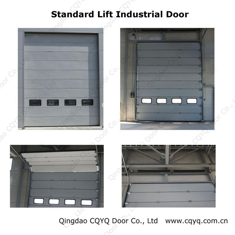 Industrial Automatic Doors : Automatic sectional industrial doors china