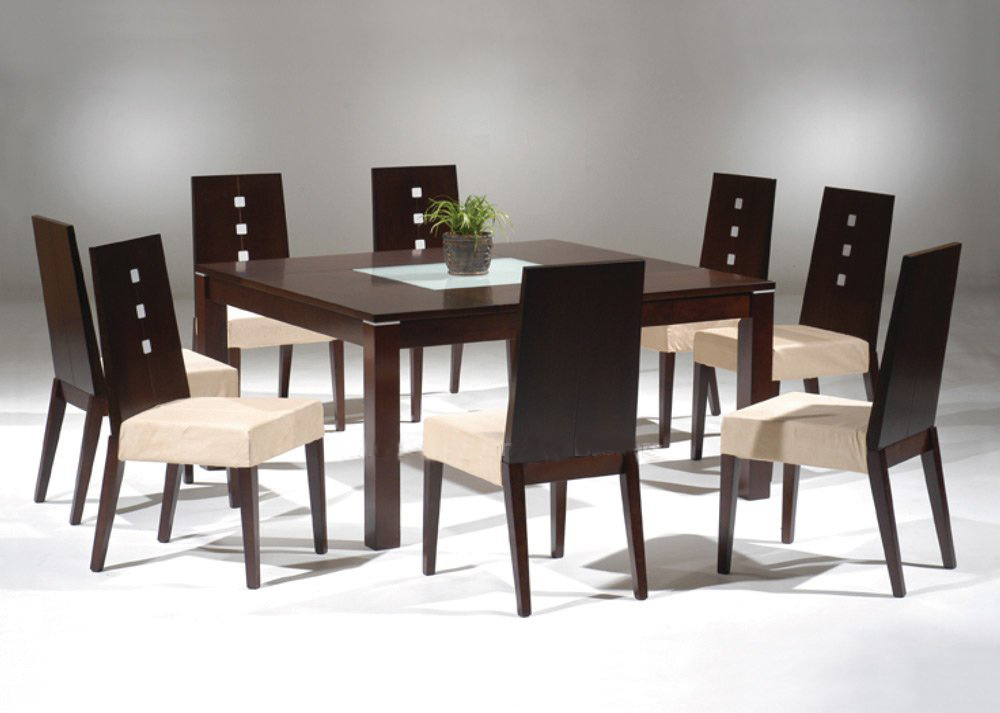 China Oak Dining Table Set BYD DT 001 China Wooden