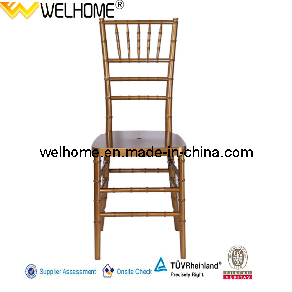 Hot Sale Resin Chiavari Chair/Tiffany Chair for Rental/Party/Wedding