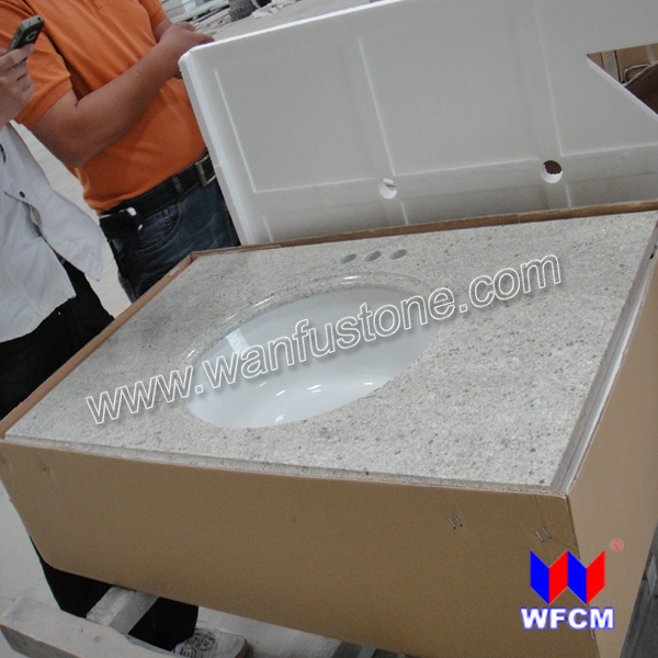 Granite Vanity Tops With Undermount Sink - China Vanity Top, Granite ...
