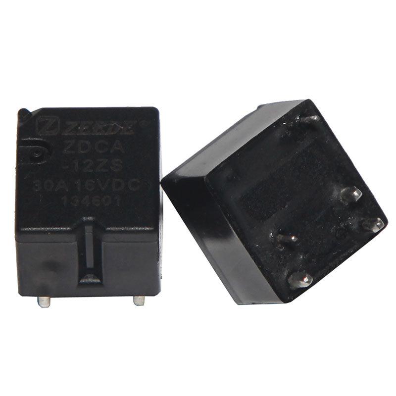 Zeede Miniature Automotive Relay 30A 12V Auto Parts