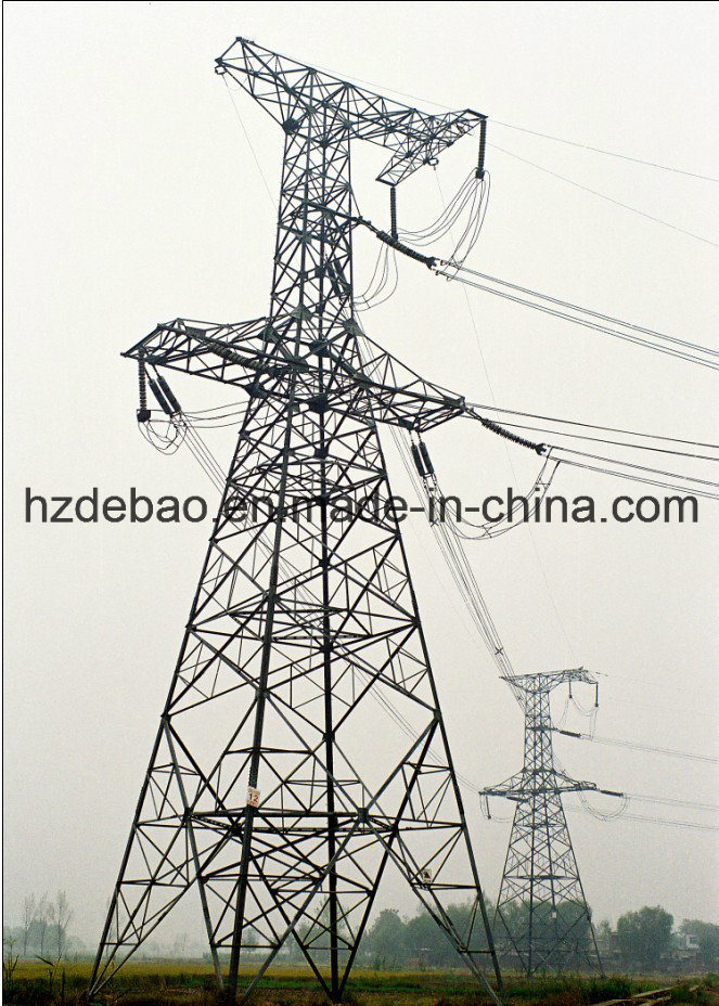 Steel Electrical Transmission Power Tower