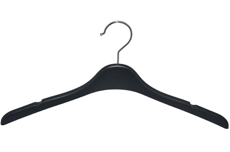 Brand 17 Inches No Slip Custom Plastic Clothing Hanger