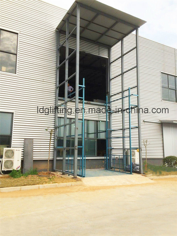 Stationary Hydraulic Scissor Goods Lifting Machinery (SJG5-5)