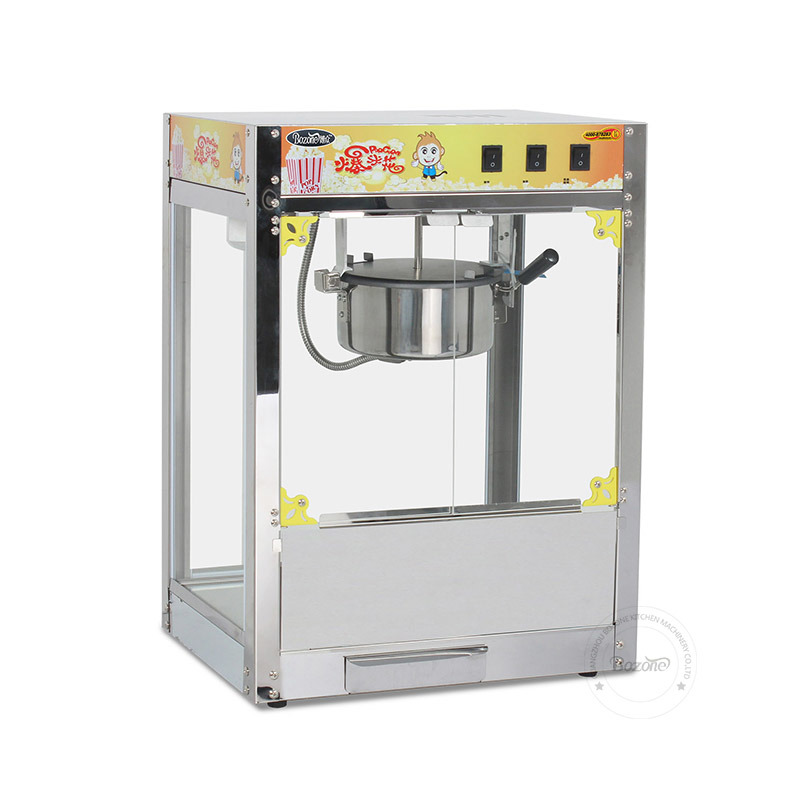Luxury Stainless Steel Popcorn Machine Eb-08s