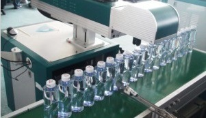 Bottle Date Code CO2 Laser Marking Machine/Laser Printing Machine