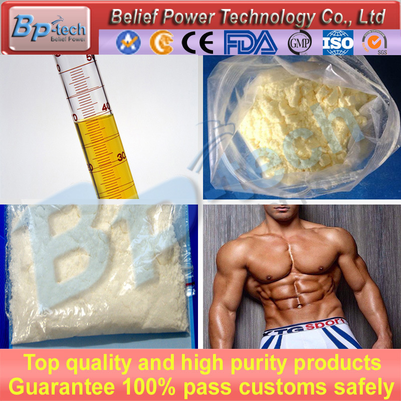 Muscle Building Steroid Hormone Testosterone Enanthate CAS 315-37-7
