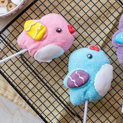 3D Carton Chick Chicken Biddy Toy Lollipop Candy
