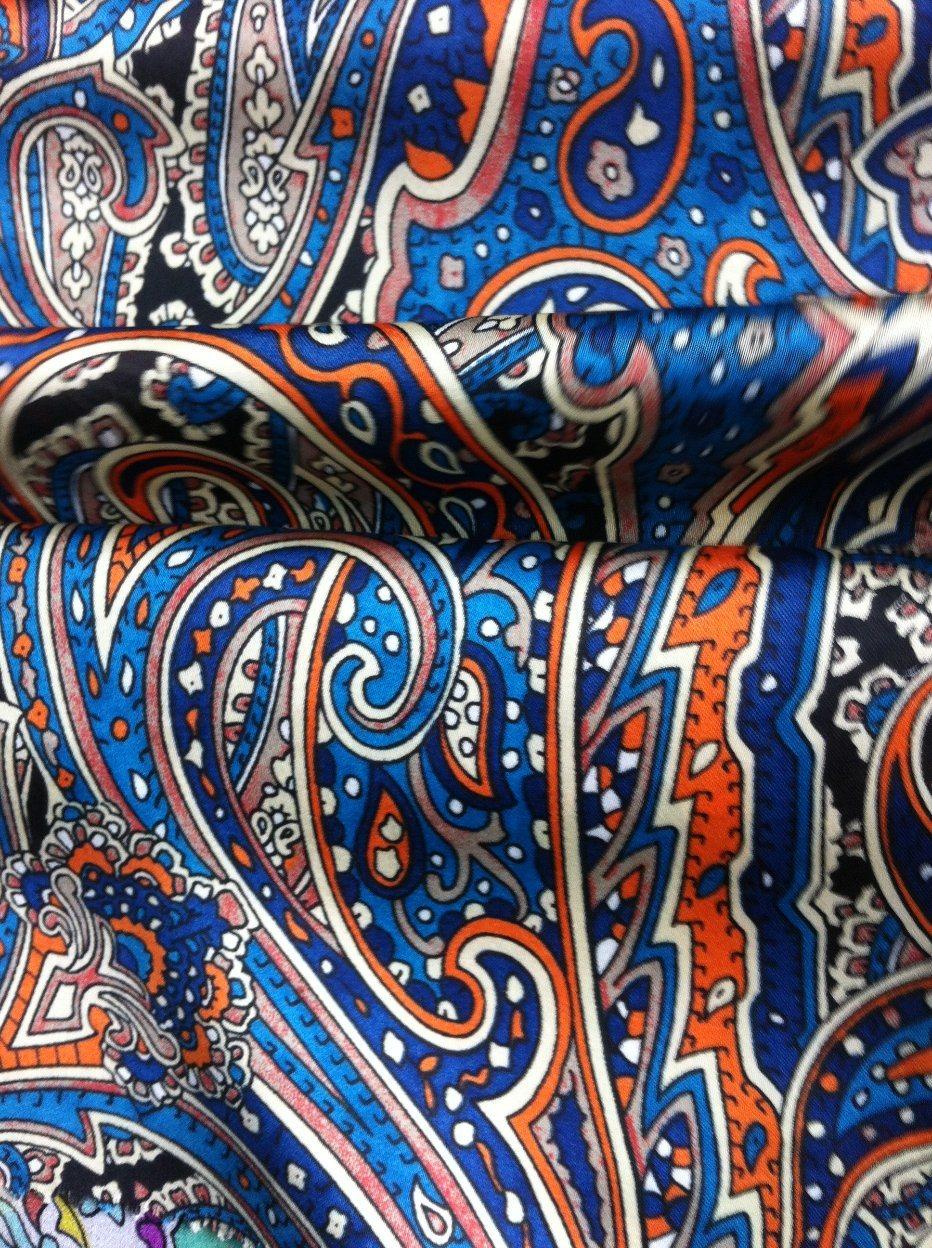 Beautiful Chiffon Blouse Fabric 100% Polyester Printed Chiffon Evening Dress Fabric