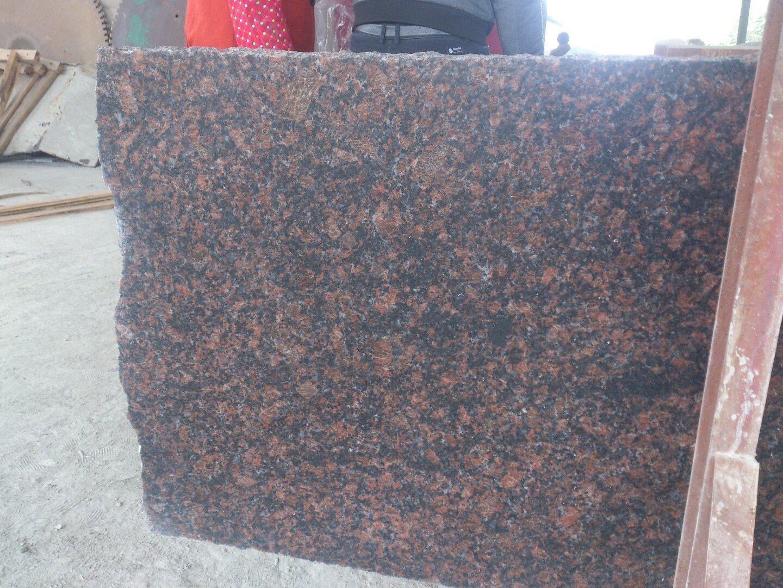 Polished Tan Brown Granite Countertop Vanity Top