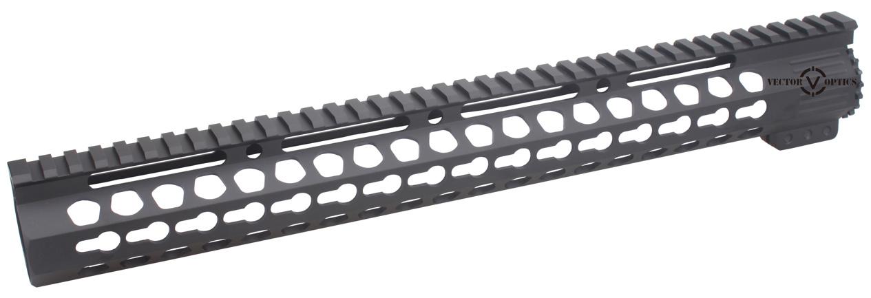Tactical Ultra Slim Ar15 Keymod 7 10 12 15 17 Inch Free Float Handguard Rail Mount