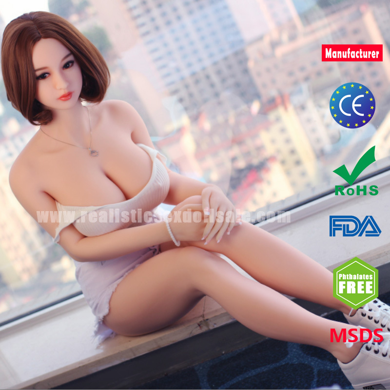 161cm Big Breast Silicone Sex Doll Vagina Anal Sex Toys