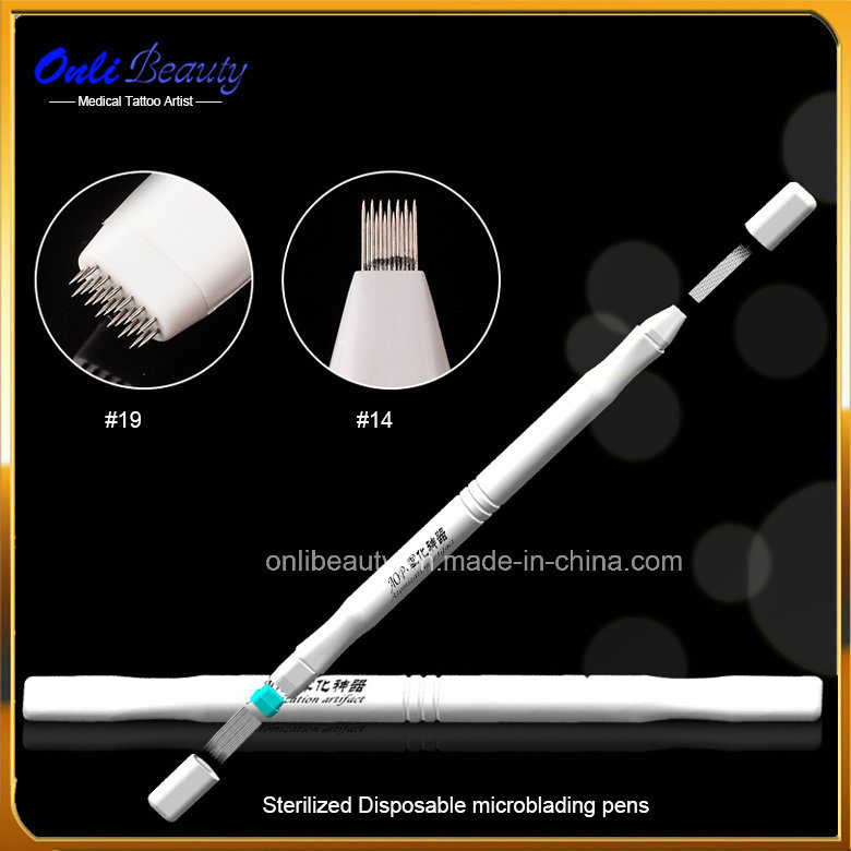 5 PCS Sterilized Disposable Microblading Shading Tool