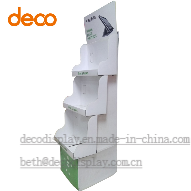 Paper Pop Display Exhibition Cardboard Display Stand for Retail