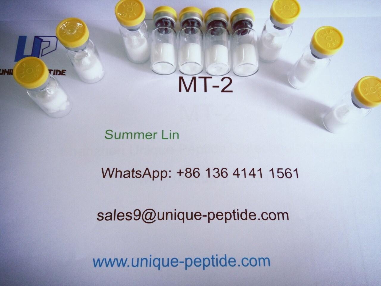 99% Top Grade Melanotan II, Melanotan 2 for Skin Tanning