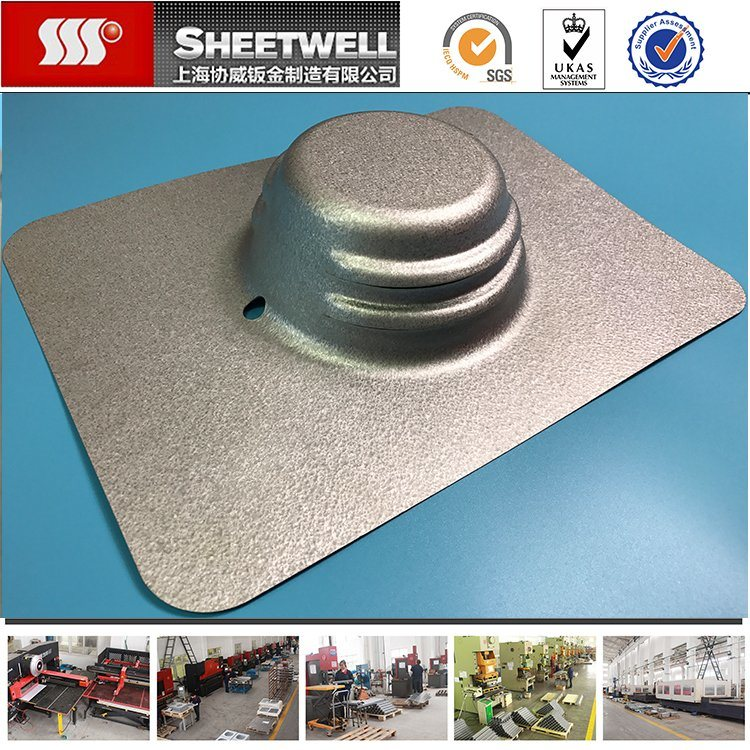 China Custom Design Aluminum Sheet Metal Parts Processing