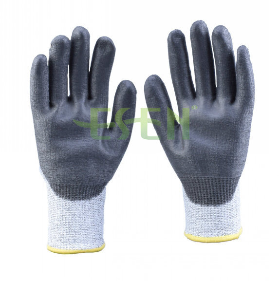 Esen Good Quality Nitrile Coated Maintenance Hand Work Gloves