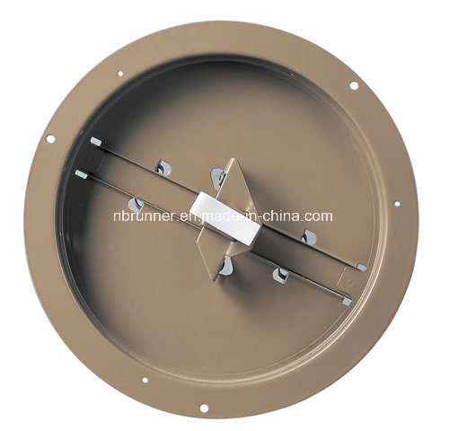 Round Duct Ring with Butterfly Damper (305101)