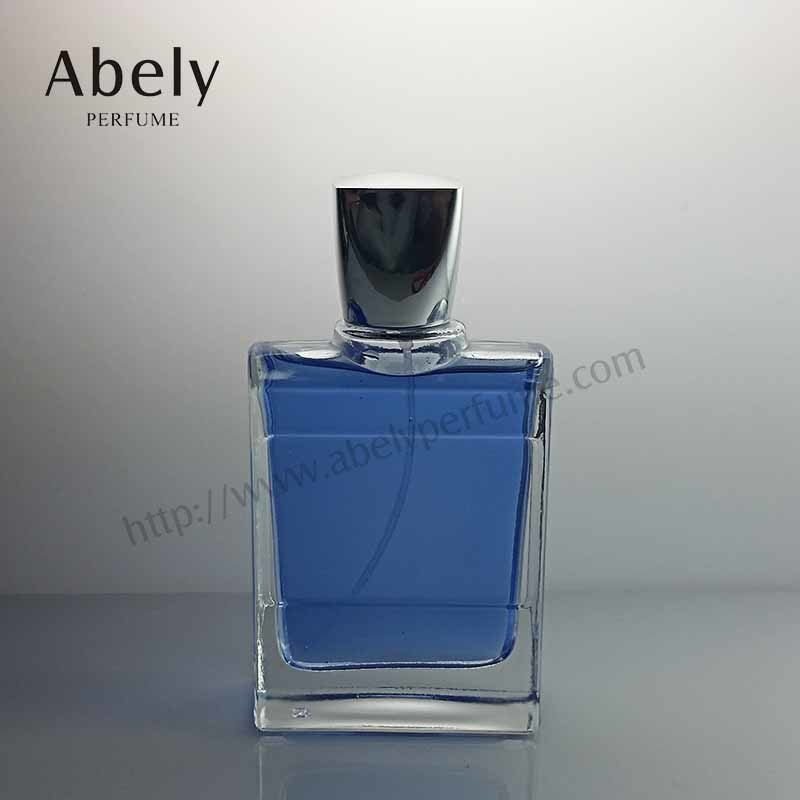 60ml Rectangle Shaped Graceful Empty Glass Perfume Bottle