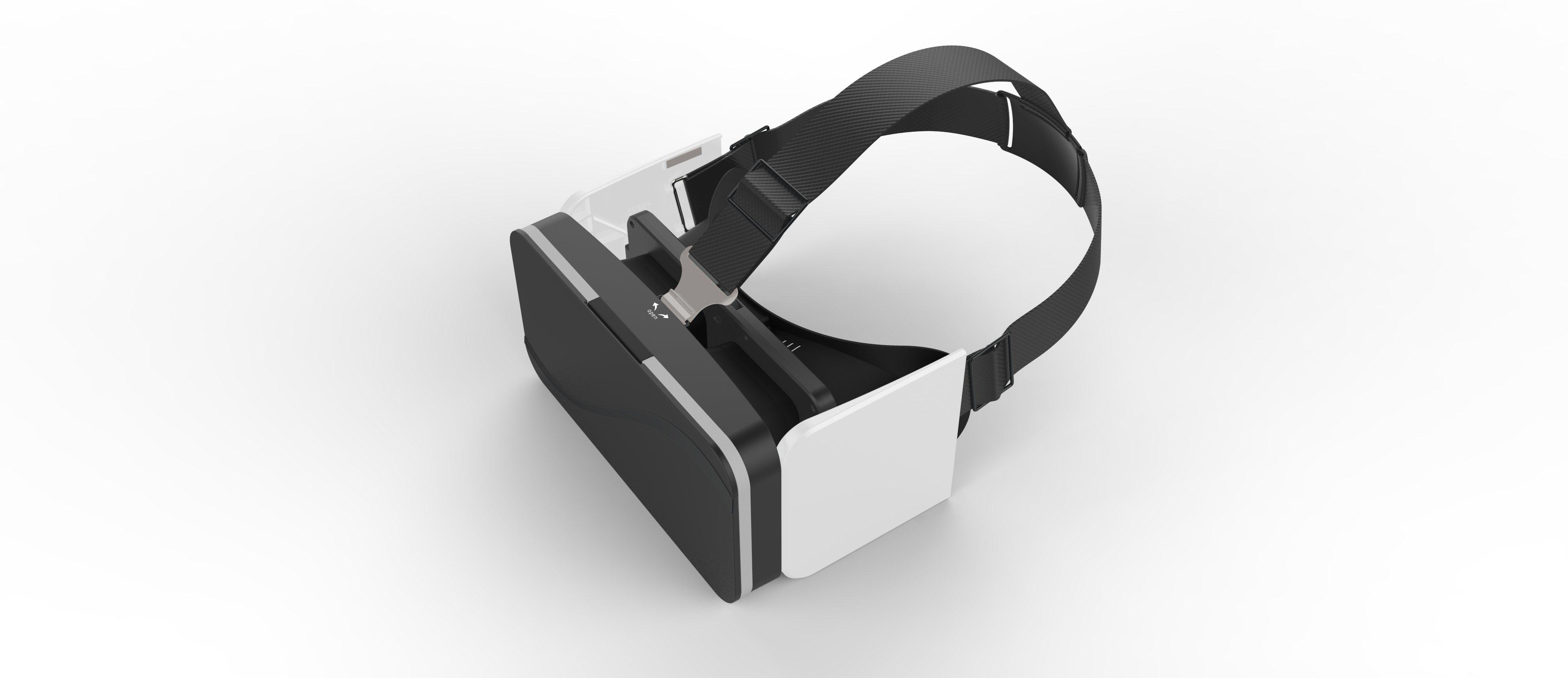 """2017 Vr Mini Vr Glasses A6 Folded 3D Glasses for 3.5"""" - 6.0"""" Smart Phones Plastic Glasses"""