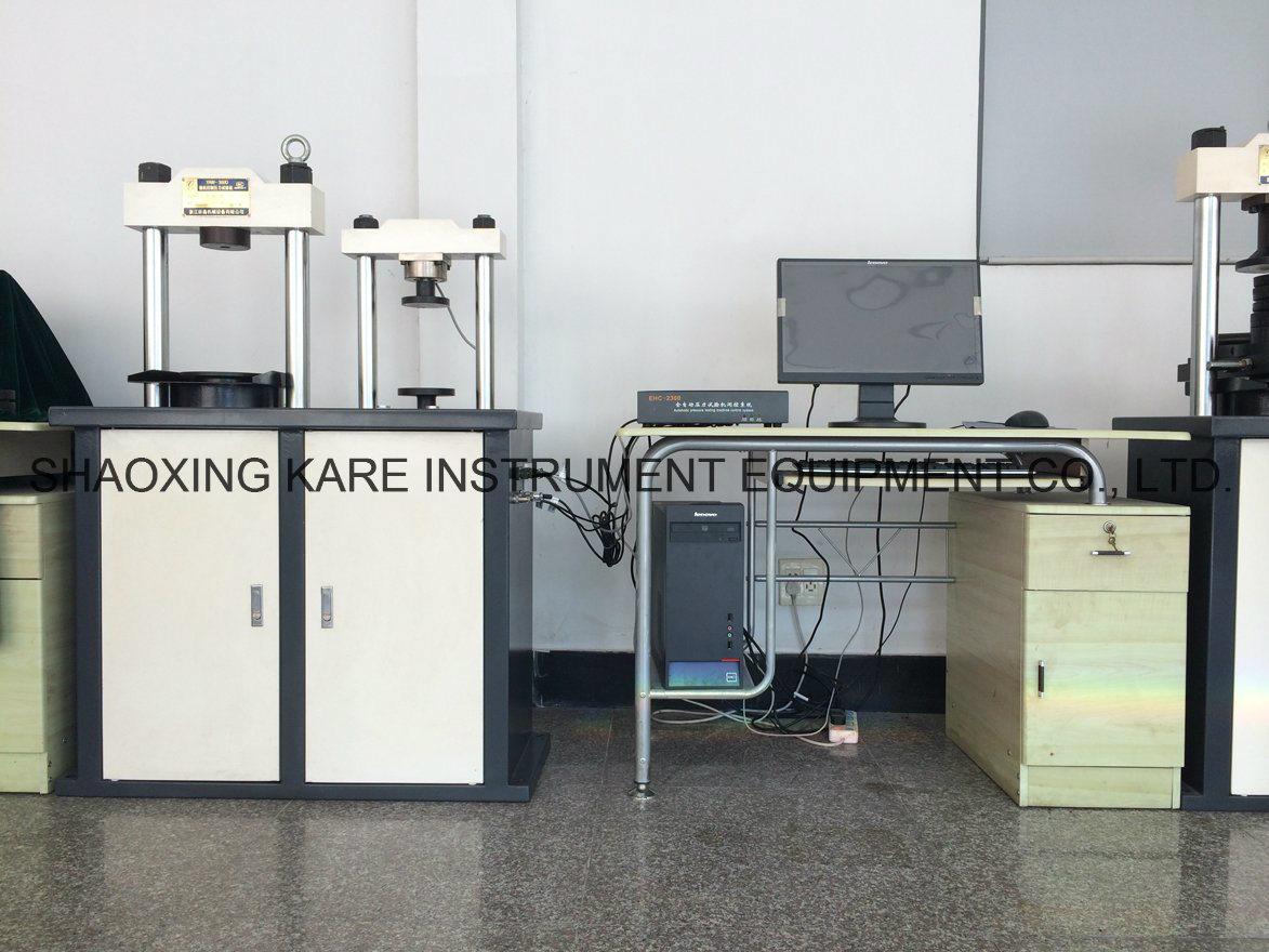 Electro-Hydraulic Servo Cement Flexure and Compression Testing Machine (YAW-300D)
