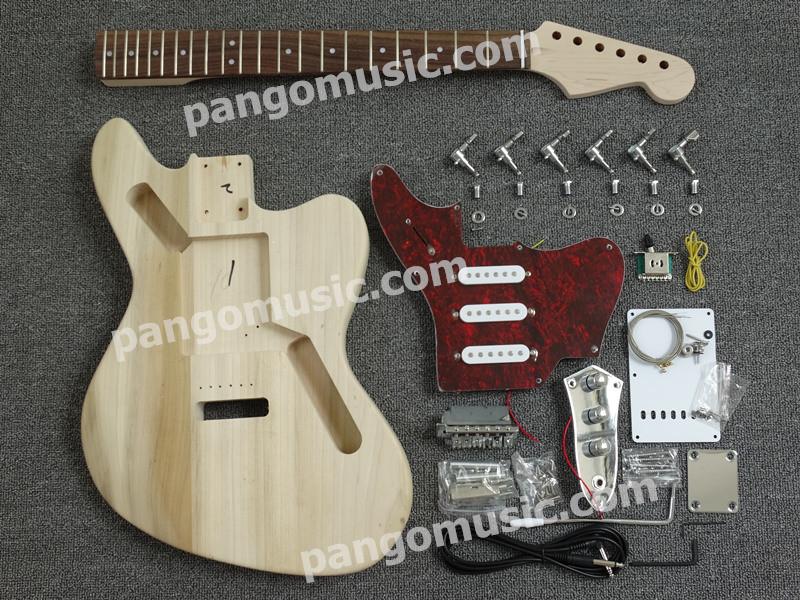 Pango Jazzmaster Style DIY Electric Guitar Kit / DIY Guitar (PJG-018K)