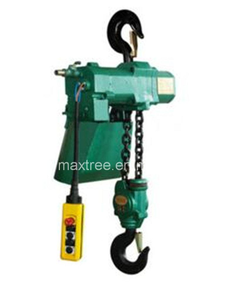 5t Overhand Chain Hoist Pneumatic Engine Hoist for Shipyard