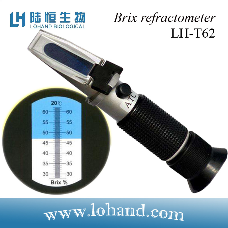 Raditional Hand Held Brix Refractometers for Sale (LH-T62)