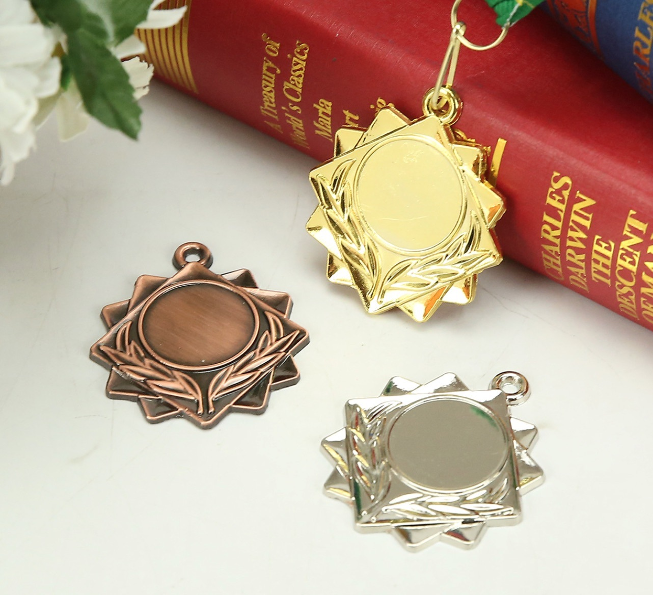 50mm Alloy Medal with 25mm Insert Size