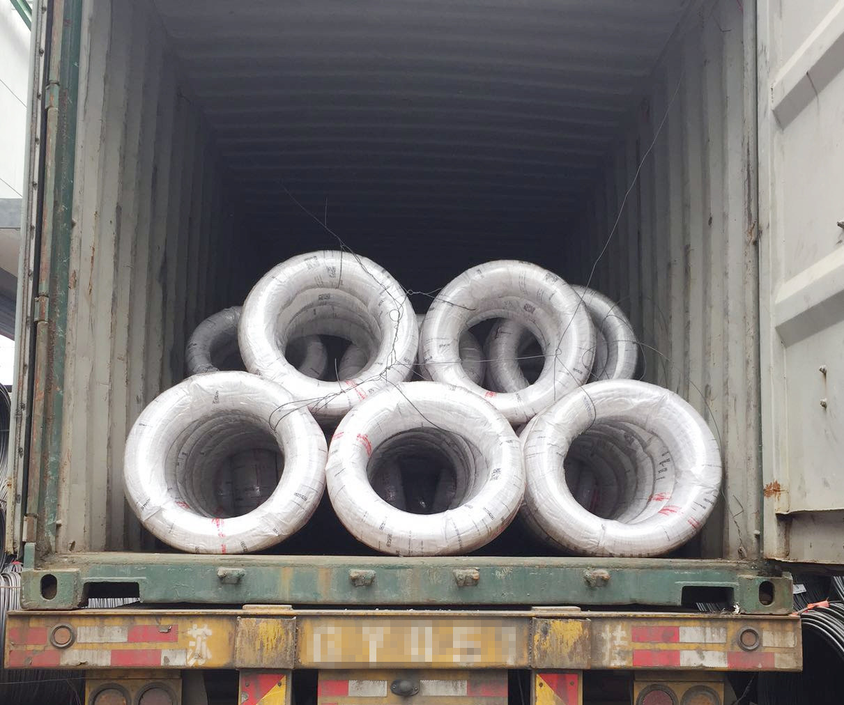 Coated Steel Wire Ml08al for Making Fasteners