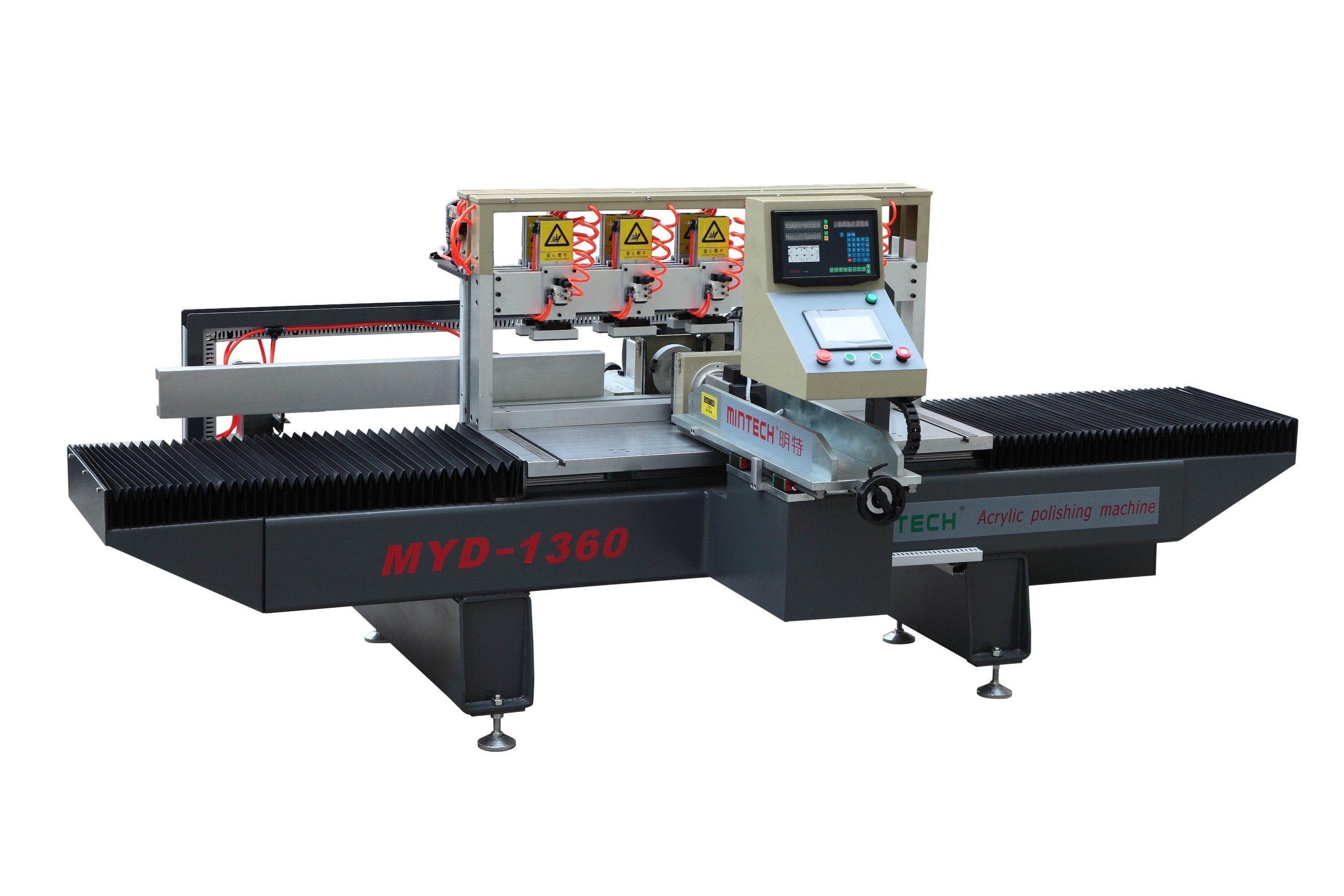 Manufactory Directly Sales Acrylic Double Edges Diamond Polishing Machine
