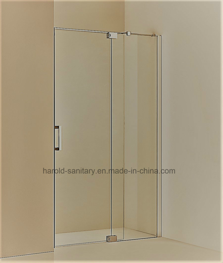Hr-01 Frameless Hinge Open with Support Arm Shower Enclosure