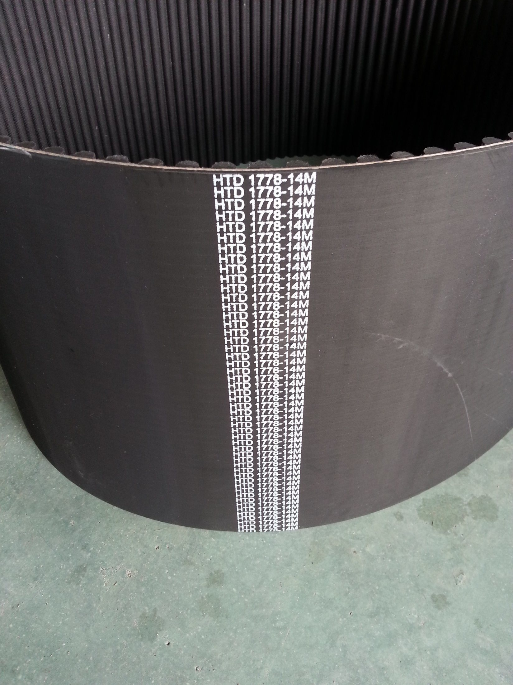 New Rubber Timing Belt Std2m, S3m, S5m, S8m, S14m