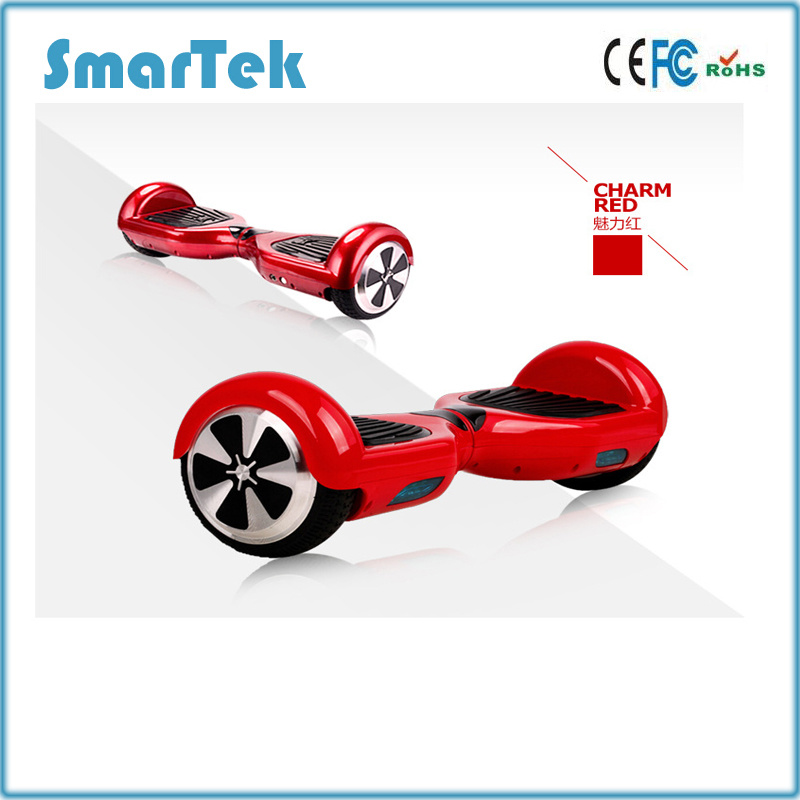 Smartek 6.5inch Gyro Scooter 2 Two Wheel Smart Self Balance Electric Skateboard Hoverboard Scooter Segboard Gyropode Hoverboard for Hebrew 12km/H S-010-EU