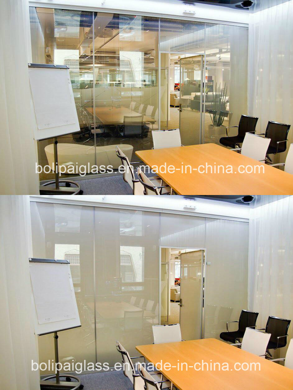 Professional Switchable Glass with Pdlc Film for Partition