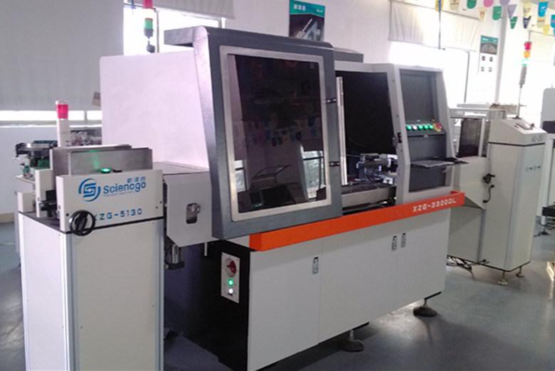 Automatic Bulk LED Insertion Machine Xzg-3300EL-01-04 China Manufacturer