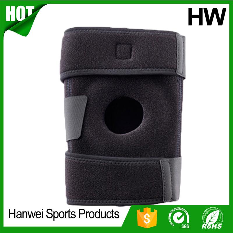 High Quality Black Orthopedic Custom Kneecap (HW-KS020)