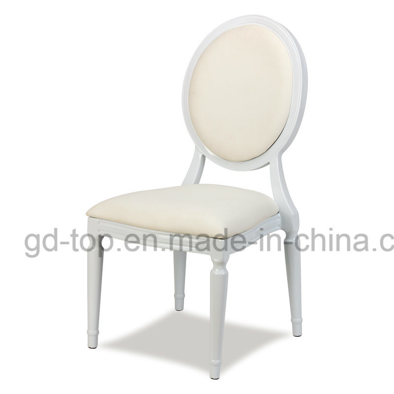 Banquet Tiffany Classic Stackable Gold Louis Wedding Chair