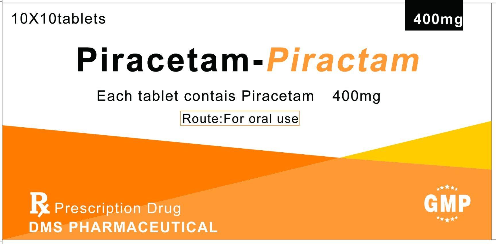 Piracetam CAS 7491-74-9 for Tablet GMP Fadtory