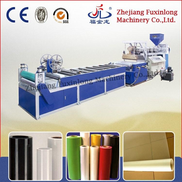 Horizontal Mono-Layer Plastic Sheet Extruder