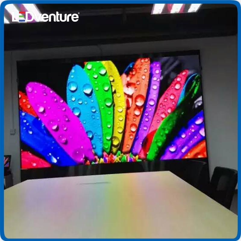 pH2.0 Indoor HD Resolution LED Display Wall