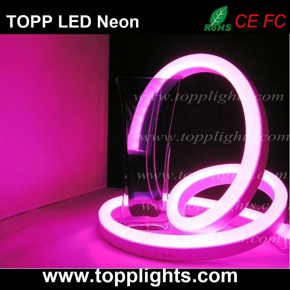 High Bright 80LED/M 100LED/M Waterproof Flex LED Neon Light