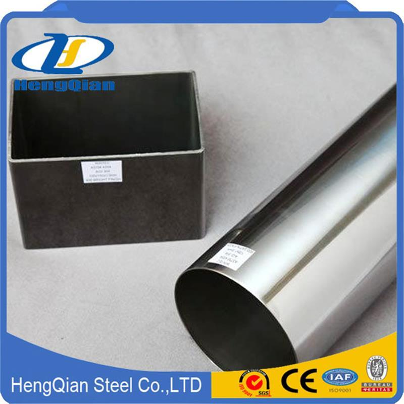 Wholesale Round/Square SUS201 304 316 310S S31803 Stainless Steel Pipe for Decoration