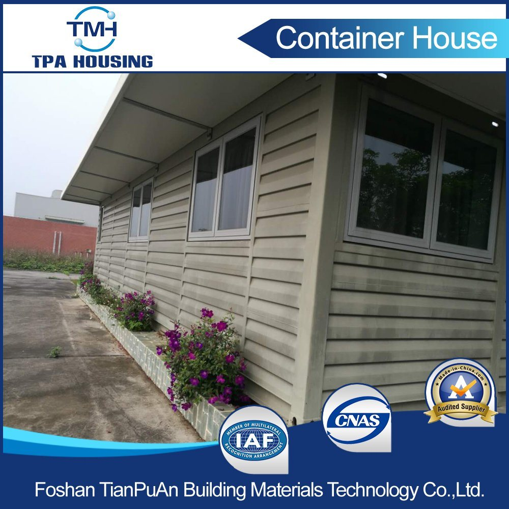 Well Decorated Prefabricated Container House Villa for Living Unit