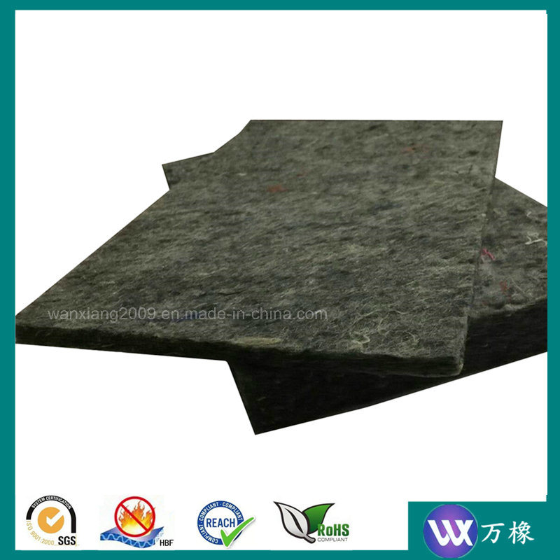 Nonwoven Hard Acoustical Sound Insulation Polyester Felt Underlay
