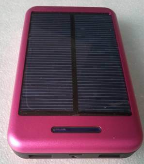 Solar Charger Sp-10t with Li-Pol 10000mAh Power Bank