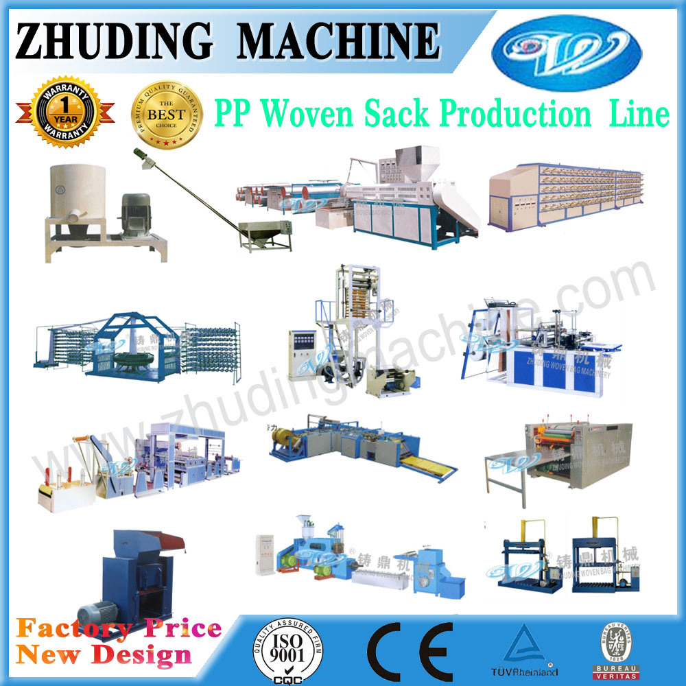 PP Woven Bag Complete Production Line