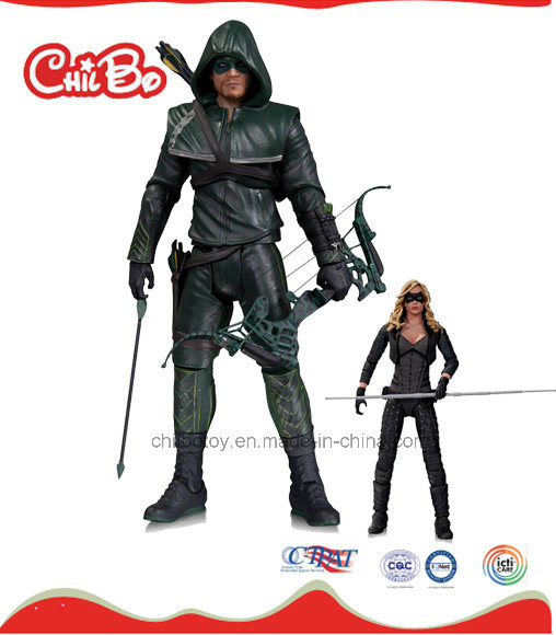 Green Arrow Man Plastic Doll