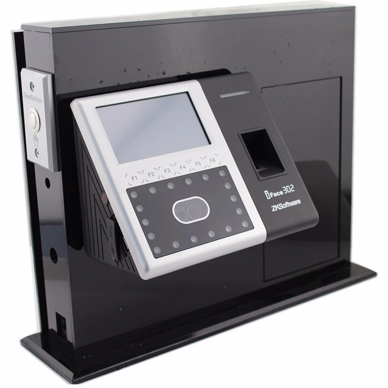 Face+Fingerprint Recognition Time Attendance and Access Control (ZK iface302)