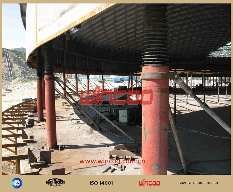 Hydraulic Lifter System/ Top to Bottom Tank Construction Equipment